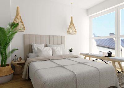 Sypialnia w stylu boho OWLpracownia