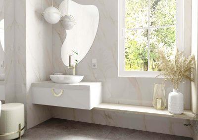 Elegancka łazienka OWLpracownia